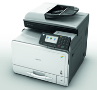 MPC305SP multi function printer available from Inception Business Technology, Swindon suppliers of printers, copiers and consumables