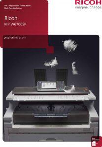 Image of Ricoh MPW6700SP Brochure
