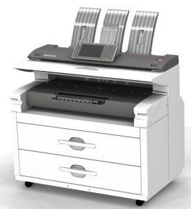 Image of MP W8140SP WideFormat Printer