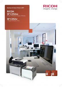 SPC252DN SPC252SF Brochure image