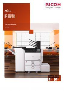 SPC830dn SPC831dn Brochure image