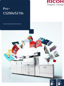 Ricoh Pro C5200s colour brochure