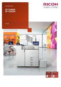 SPC840DN & SPC842DN Brochure image